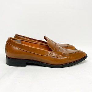 EVERLANE The Modern Penny Loafer Cognac Leather